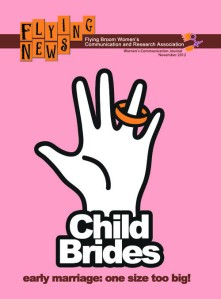 New campaign poster for Child Bride awareness.