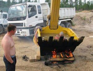 Redneck hot tub.