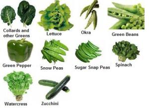 Eat Your Veggies! (Especially the Green Ones)