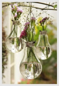 Lightbulb planters