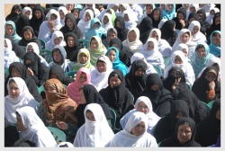 Hundreds of Afghan women