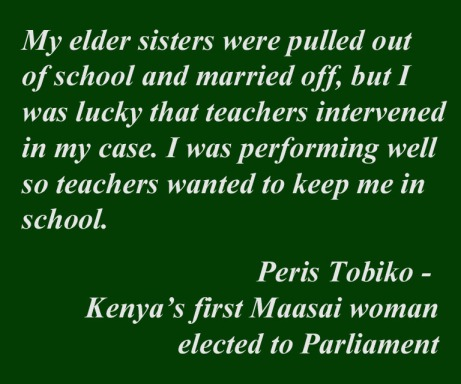 Quote regarding child marriage