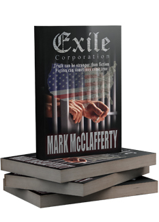 Exile books stack