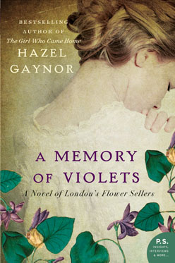 Memory of Violets book cover