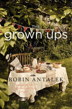 Book cover for The Grown Ups