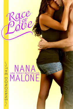 Book cover race for love