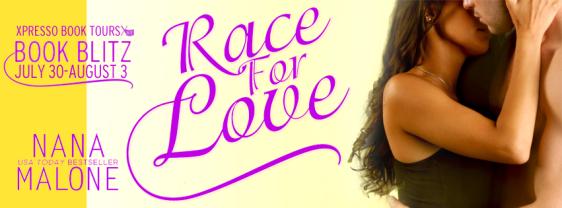 Race for love banner